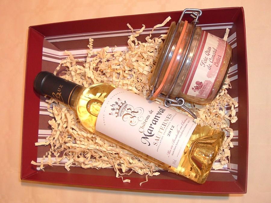 corbeille cadeau foie gras et vin foie gras des landes. Black Bedroom Furniture Sets. Home Design Ideas